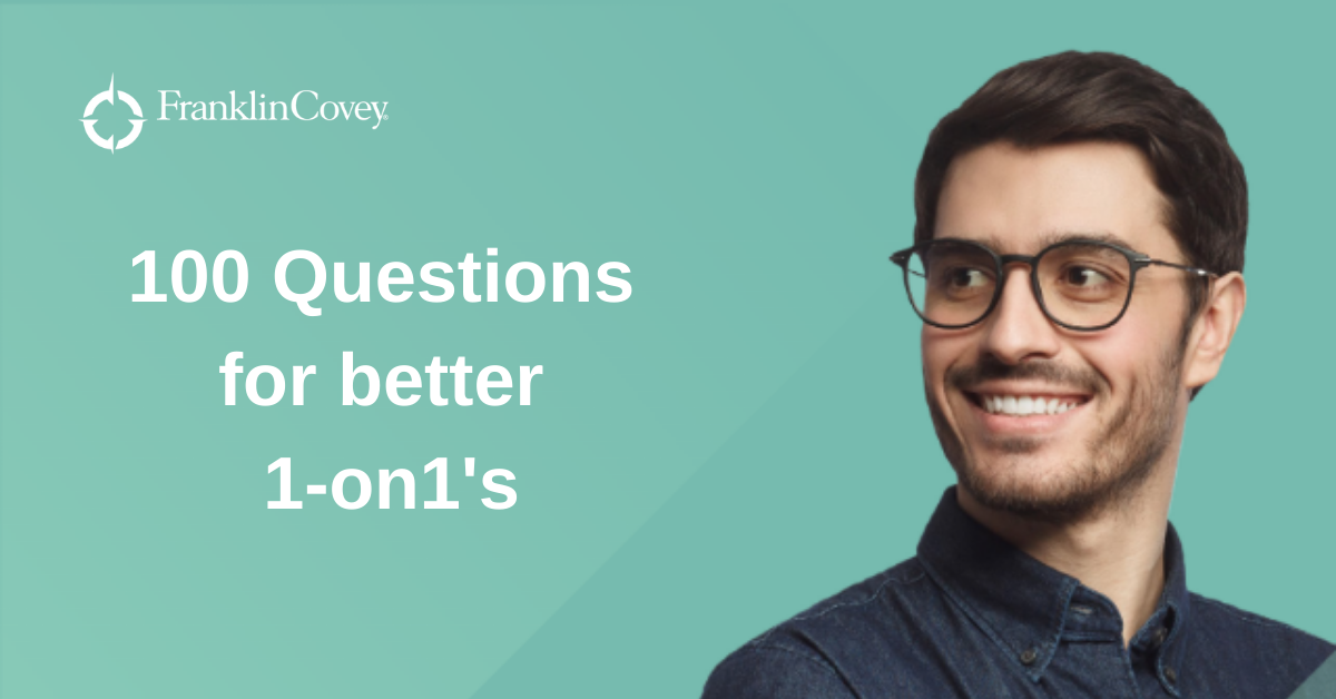100 Questions for better 1-on1s