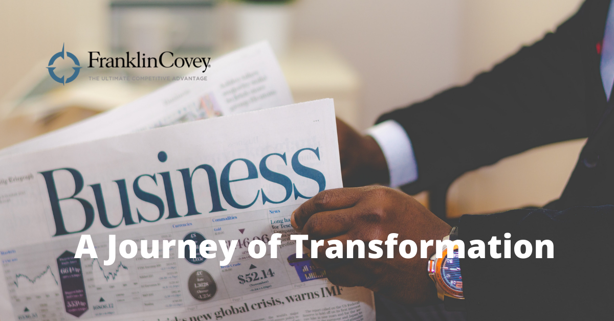 A Journey of Transformation