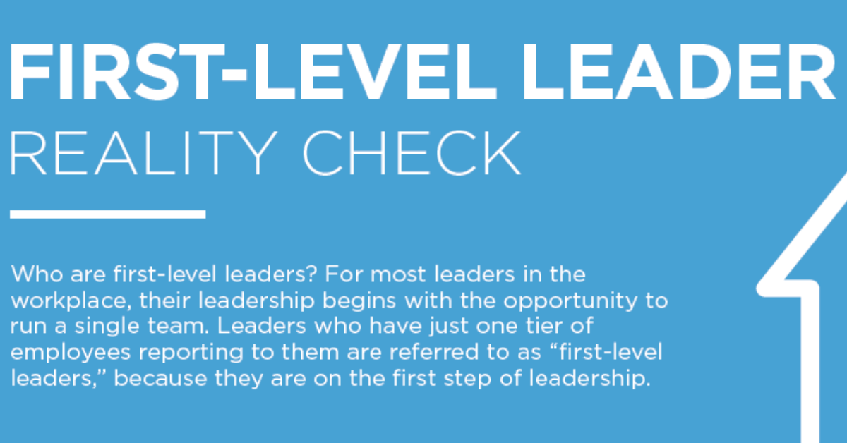 First Level Leaders